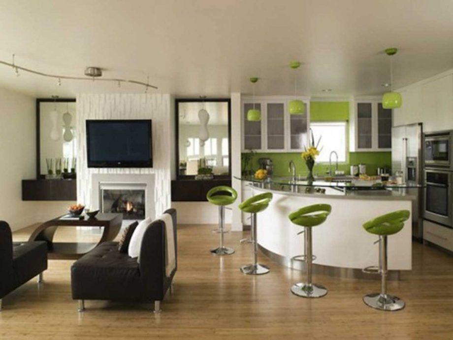Salon 35m2 Salon Et Cuisine Deco Cuisine Ouverte Sur Salon Deco