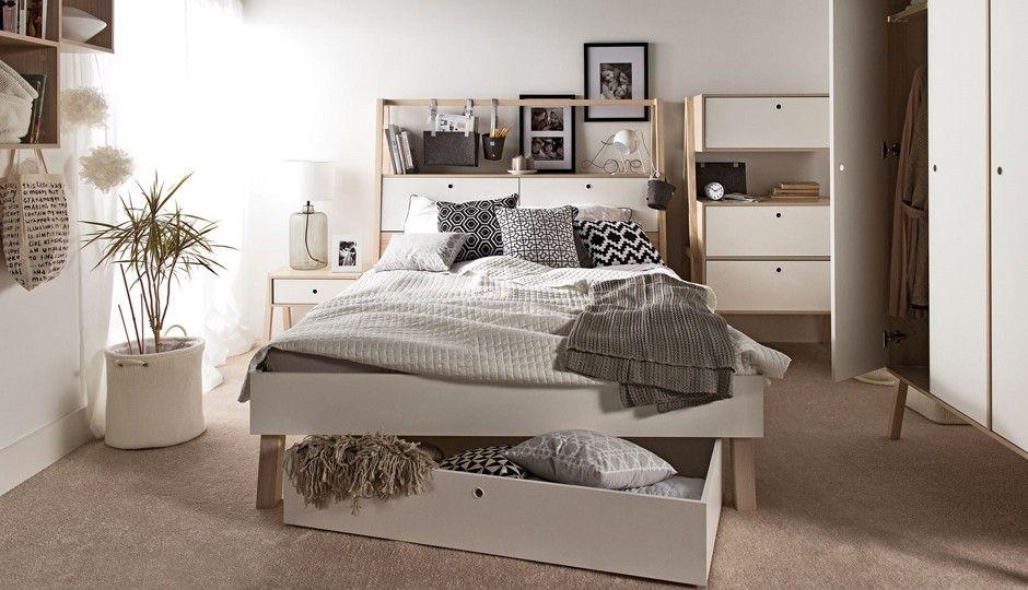 Moderne wit houten slaapkamer gero wonen slaapkamer pinterest