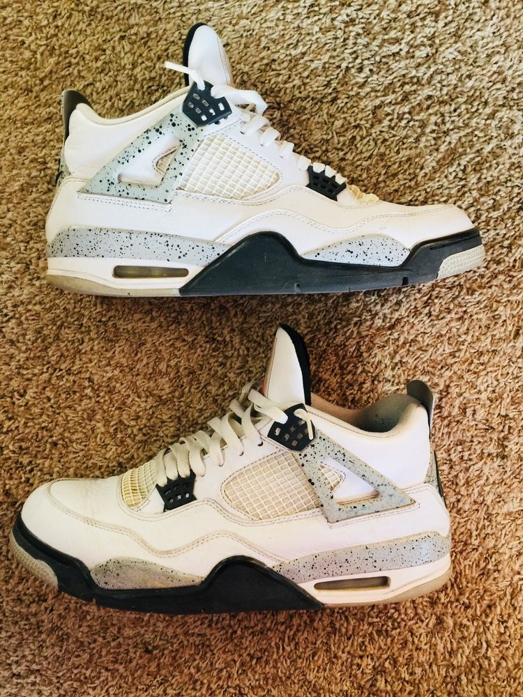 2283a8ca8730 Nike Air Jordan 4 White Cement 2016 IV OG Retro Size 12  fashion  clothing   shoes  accessories  mensshoes  athleticshoes (ebay link)