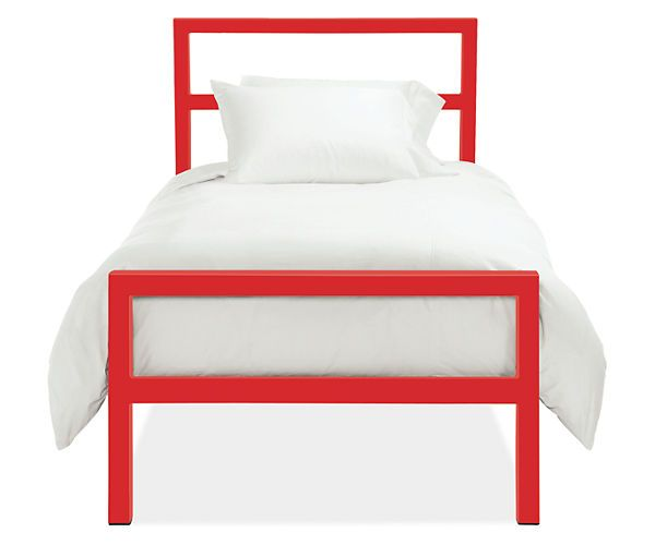 Room  Board - Parsons Twin Bed Design Process Pinterest Twin