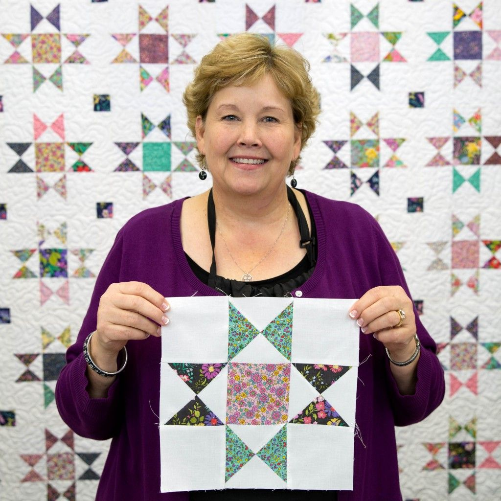 This Is Such An Easy Way To Make The Ohio Star Quilt Free