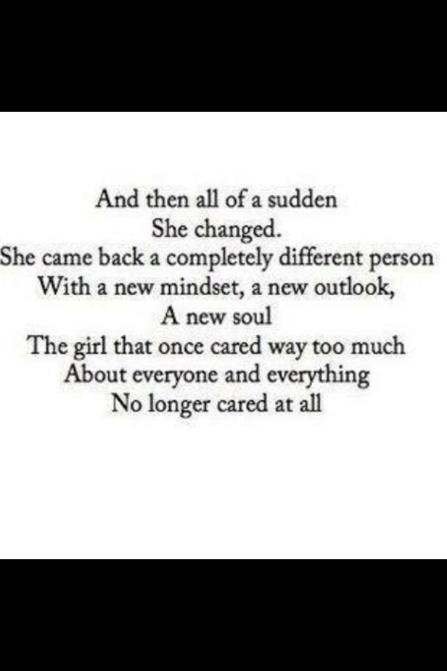 She Doesnt Care Anymore Cute Quotes Quotes Life Quotes Sayings