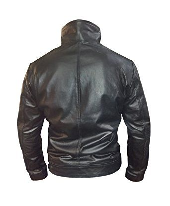 cheap prices low priced best sell Enrique Iglesias Heart Attack Song Leather Jacket l Black ...