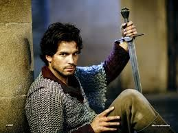 Lancelot, also a brave and loyal knight of the Round Table