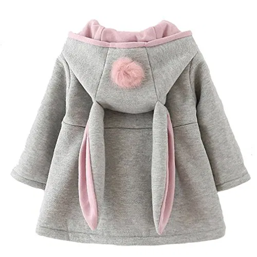 Cokate Infant Baby Girl Fall Winter Hooded Coat Sweet Rabbit Jackets Outerwear Clout Wear Cloutclothes Com Clothes Accessories Baby Girl Winter Baby Girl Fall Fall Winter Coat