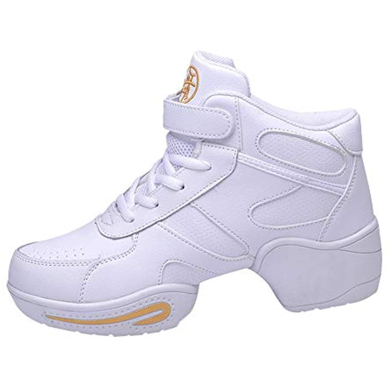Women S Dance Shoes Comfort Jazz Modern Dance Shoes Soft Toe High Top Lace Up Rubber Sole Ballroom Fitness Sneaker Modern Dance Shoes Comfortable Shoes Shoes