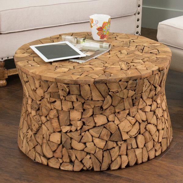 Cassia Teak Coffee Table: Beachcrest Home™ Kristoff Coffee Table