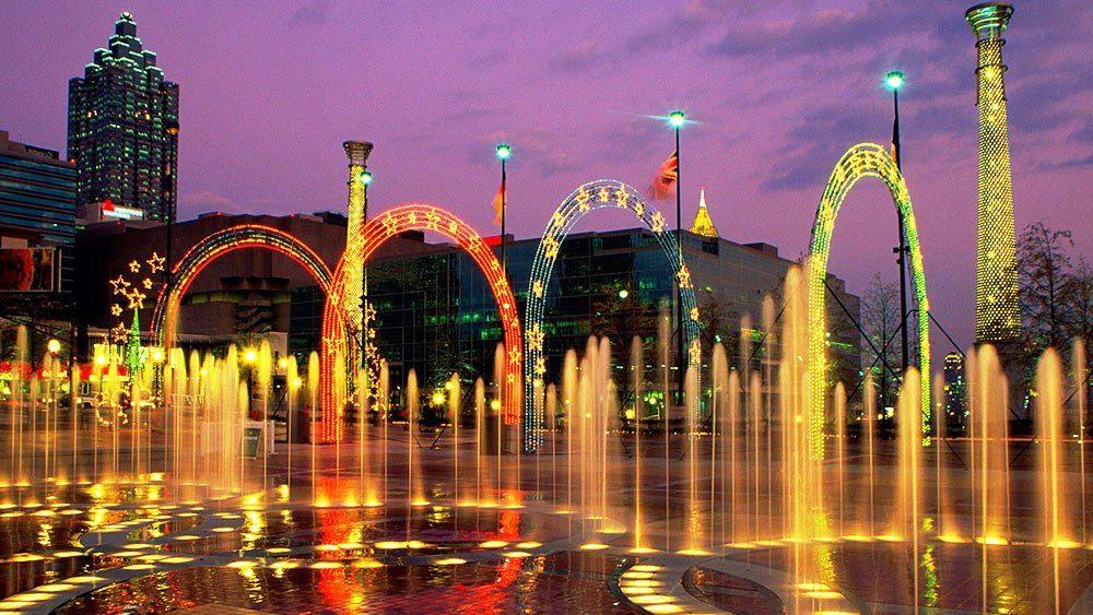 Centennial Olympic Park - Atlanta, Georgia | Atlanta ...