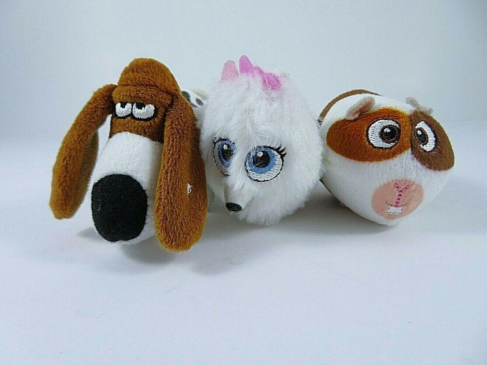 Secret Life Of Pets 3 Mcdonalds Toy Mini Characters Lot Pops Gidget Norman 2016 Mcdonalds Secret Life Of Pets Mcdonalds Toys Pets 3