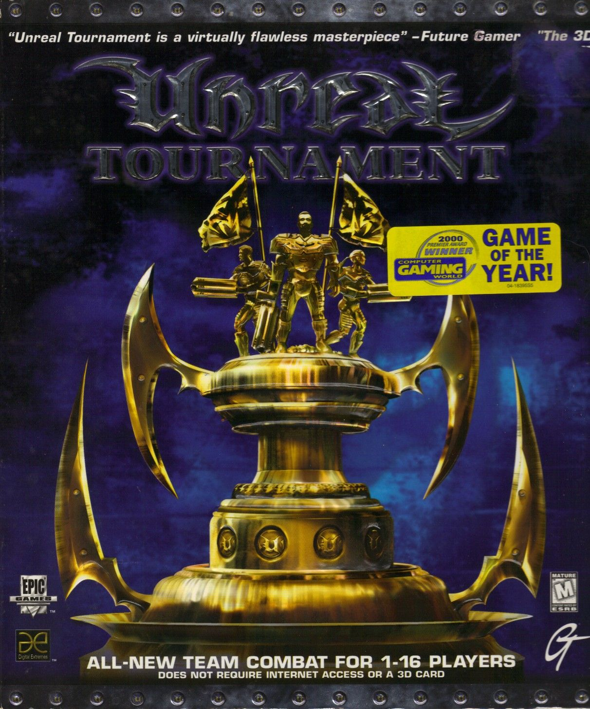 Unreal Tournament | Unreal tournament, Epic games ...