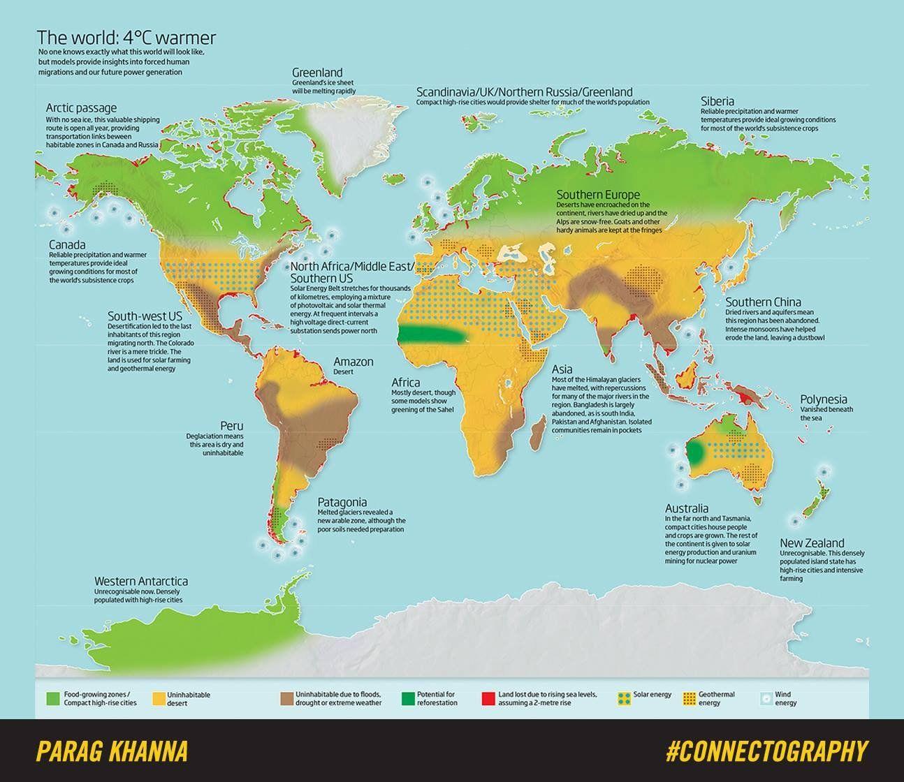 Eine Karte Zeigt Wie Anders Die Erde Aussehen Wurde Wenn Es Nur