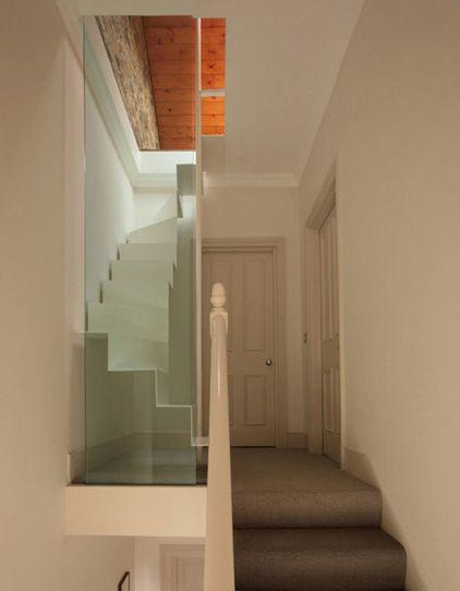 modern staircase Tamir Addadi Architecture - loft access london