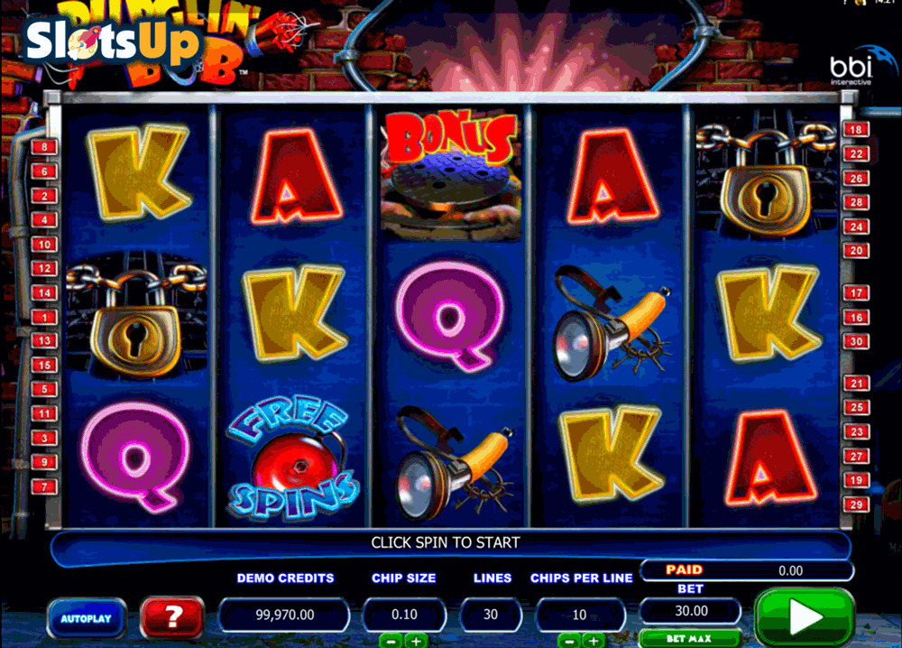 Burglin' Bob Slot by Microgaming Play FREE at SlotsUp