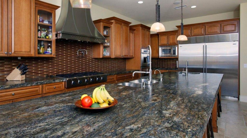 Remodeling Countertops Style Design Impressive Mediterraneanstylegranitecountertopmccullough Design . Design Ideas