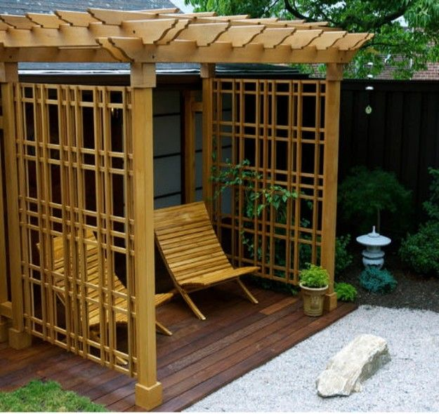 Pergola Ideas For Small Backyards Backyard Pergola Outdoor