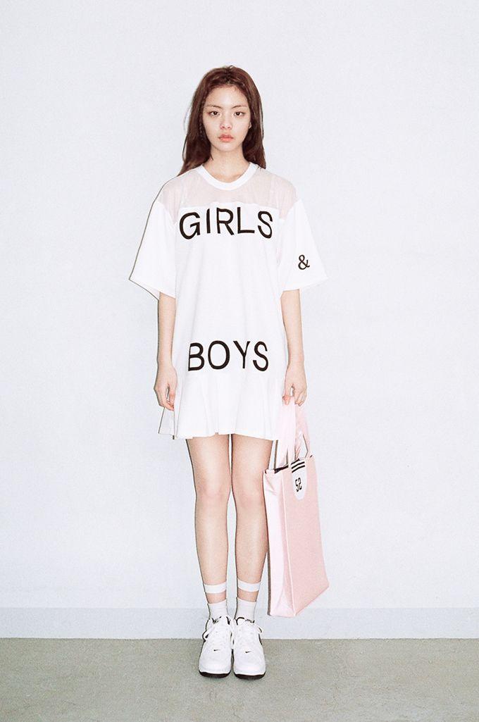 WHITE GIRLS&BOYS DRESS by O!Oi