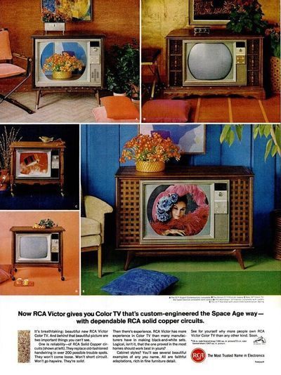 Color Television Went To Grandma S To Watch The 1967 World Series In Color Vintage Ads Vintage Tv 60s Decor