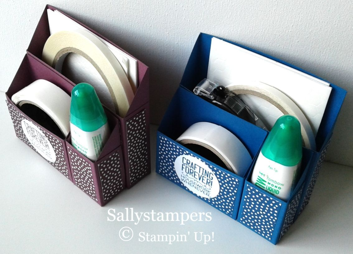 Photo of Adhesive Desk Caddy – Sallystampers