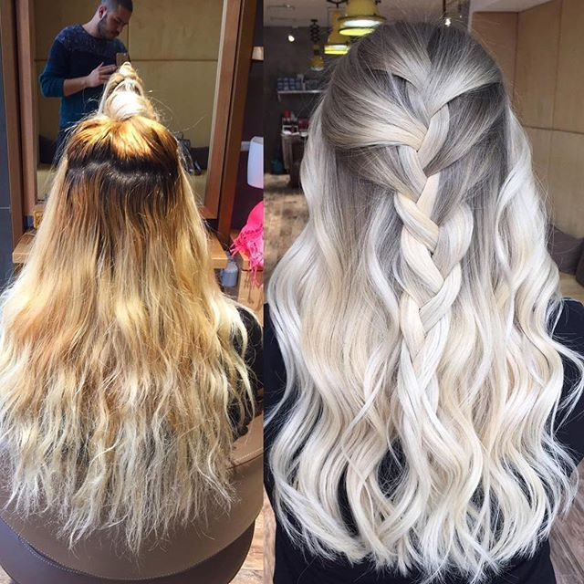 olaplex frisuren pinterest haar ideen blonde haare und mittellange haare. Black Bedroom Furniture Sets. Home Design Ideas