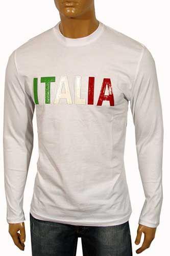 Dolce & Gabbana Long Sleeve Cotton Tee #224