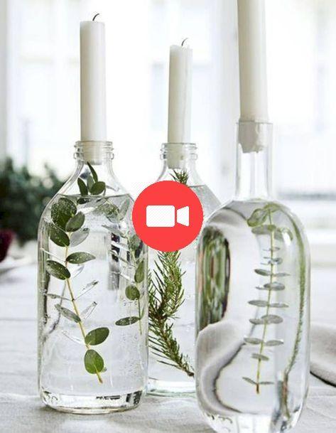 40 simple mais beau Mariage Mittelstcke Idées de sous Utilisation de la bouteille de Vin de