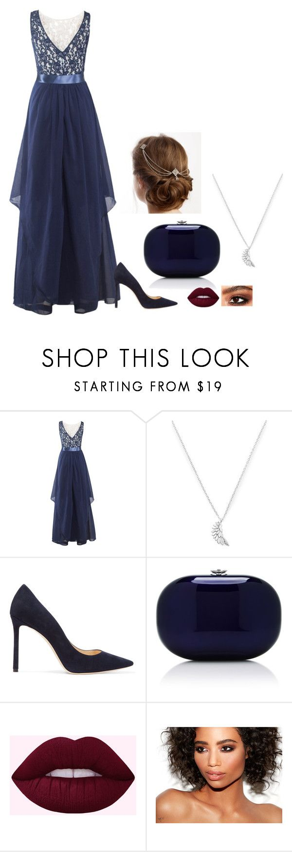 """N/A # 1145"" by terra-wendy on Polyvore featuring Estella Bartlett, Jimmy Choo and Jeffrey Levinson"