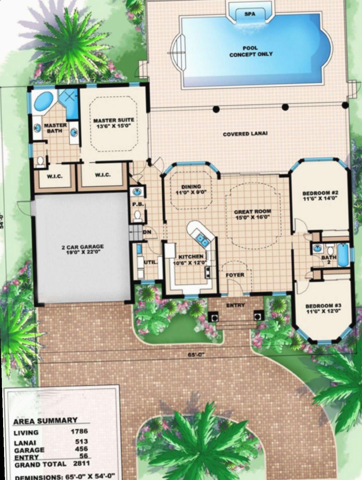 17 Office Design Architecture Plan House Blueprints Denah Rumah Rumah
