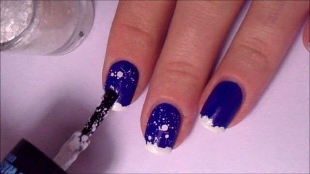 Pin for Later: Create These Frosty Winter Nail Art Designs in Less Than a Minute