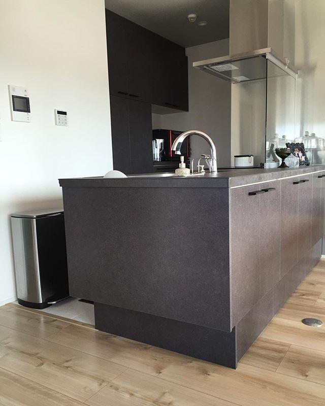 Kitchen 一目惚れした キッチン Lixil の リシェルsi 素材
