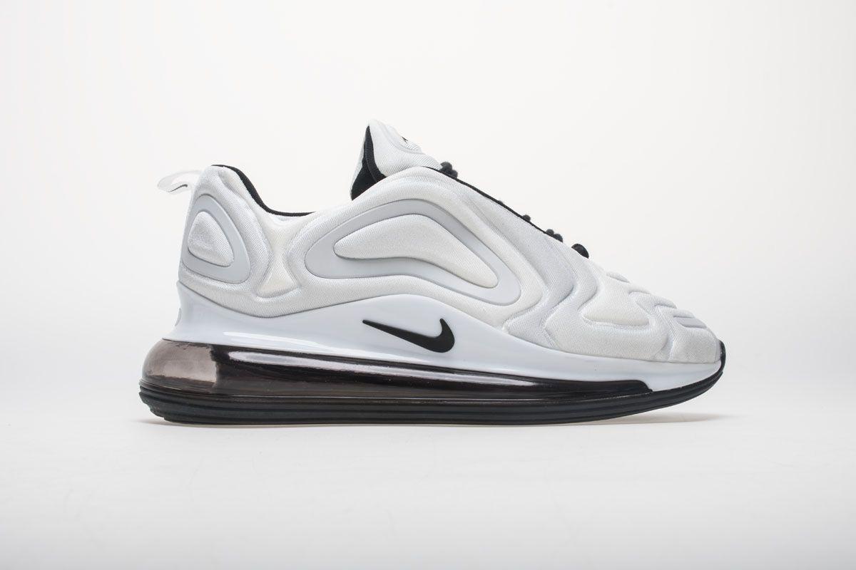 Nike Air Max 720 AR9293 100 Carbone White Black Shoes