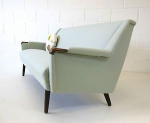Midcentury Refurbished Danish 3 Seater Sofa Retro Vintage 50s 60s