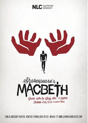 Macbeth Lion and Unicorn Theatre (Kentish Town) 2012