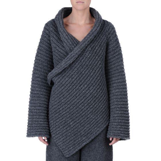 Stella McCartney - Fisherman's rib cardigan - AI15 - f