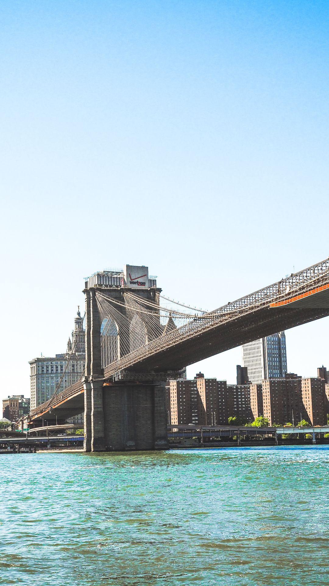 Man Made / Brooklyn Bridge (1080x1920) Mobile Wallpaper