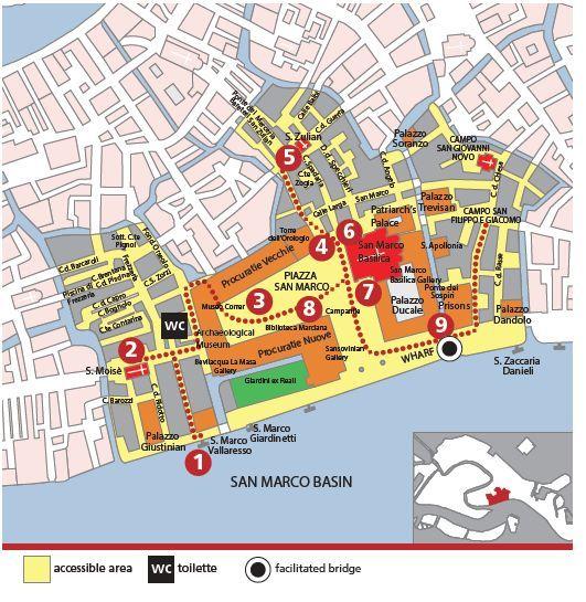 Venice City Map For Disabled Disability Pinterest Venice - Venice city map