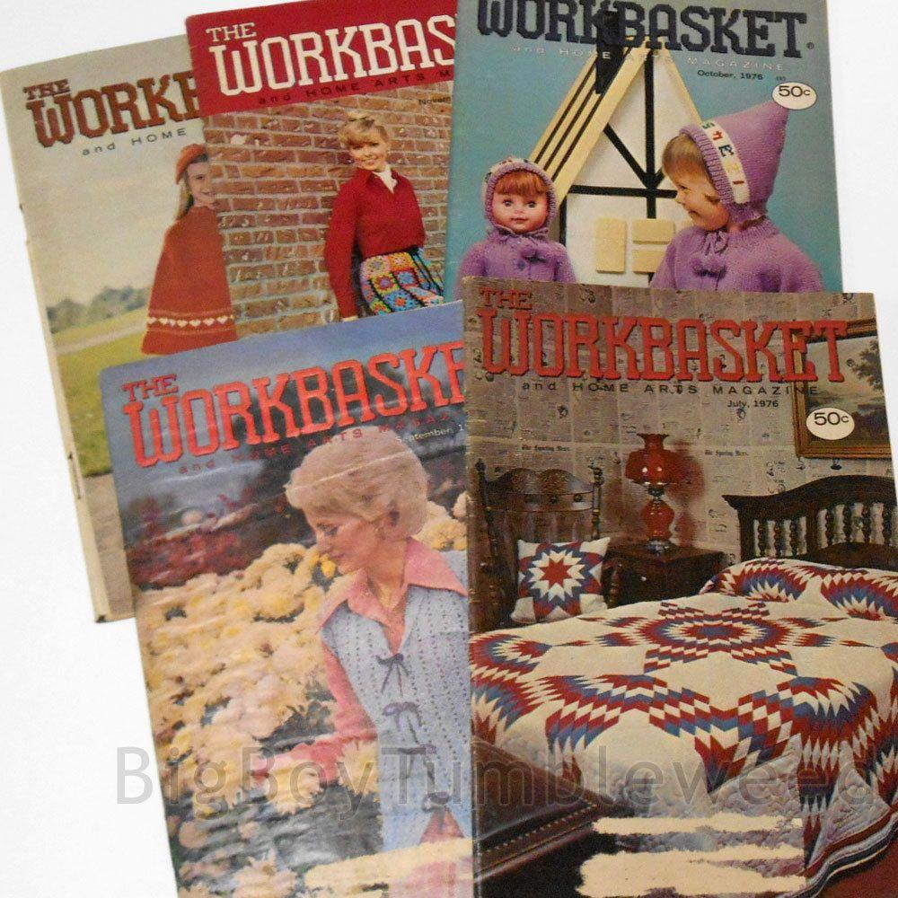 Vintage lot 5 pc 1976 workbasket magazine bicentennial quilt vintage lot 5 pc 1976 workbasket magazine bicentennial quilt crochet art pattern bigboytumbleweed bankloansurffo Choice Image