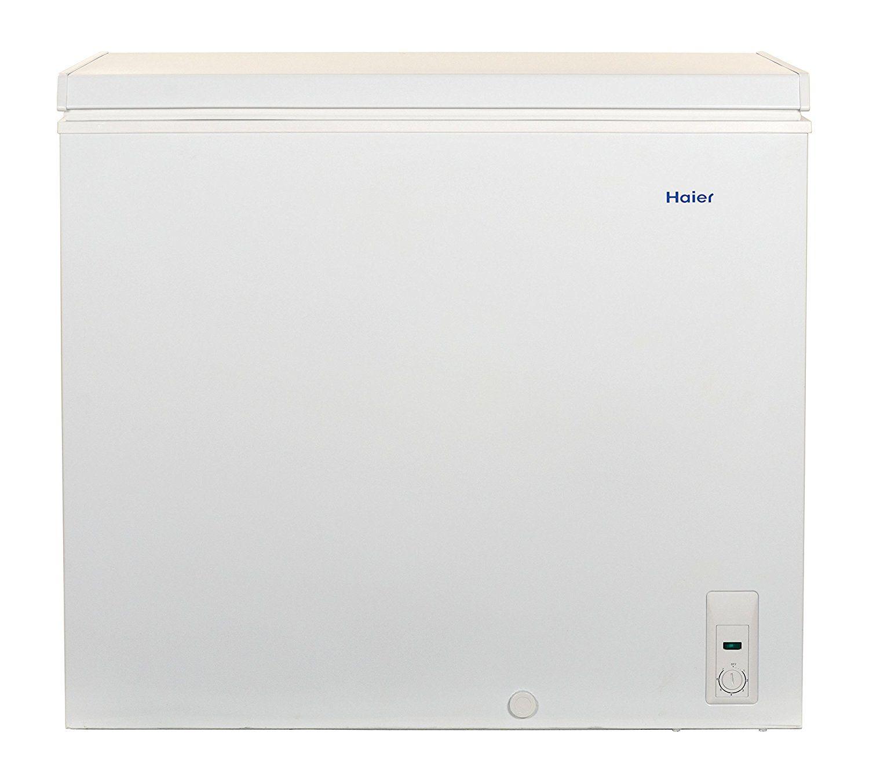 Haier Hf71cm33nw 7 1 Cu Ft Capacity Chest Freezer White