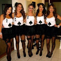 Have a Hot Ghoul Halloween With These 60 Girlfriend Group Costumes #accessories