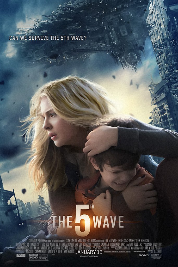 The 5th Wave Poster With Images The 5th Wave Movie The 5th