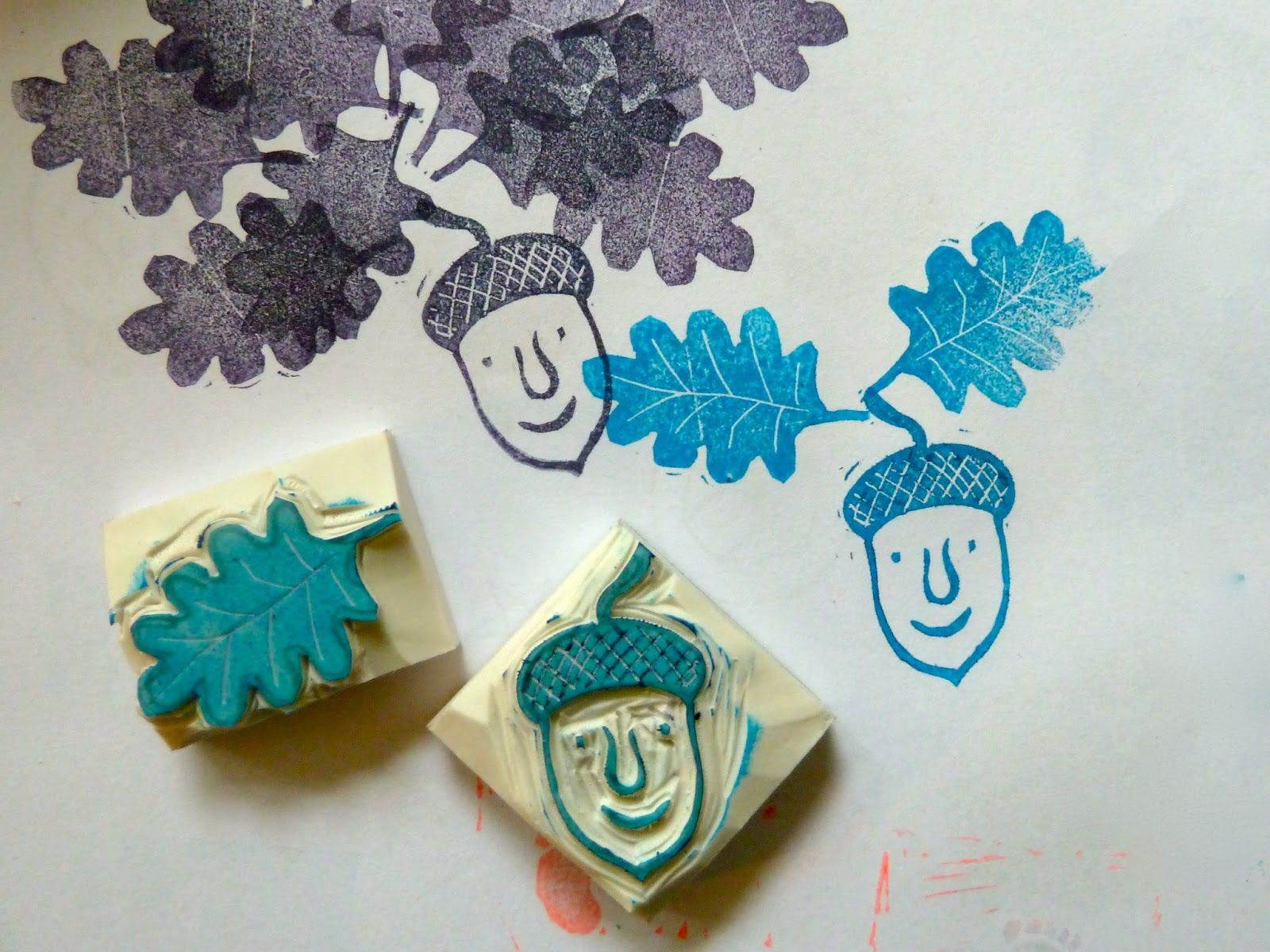 a Stamp a Day: 2 stamp carving workshops