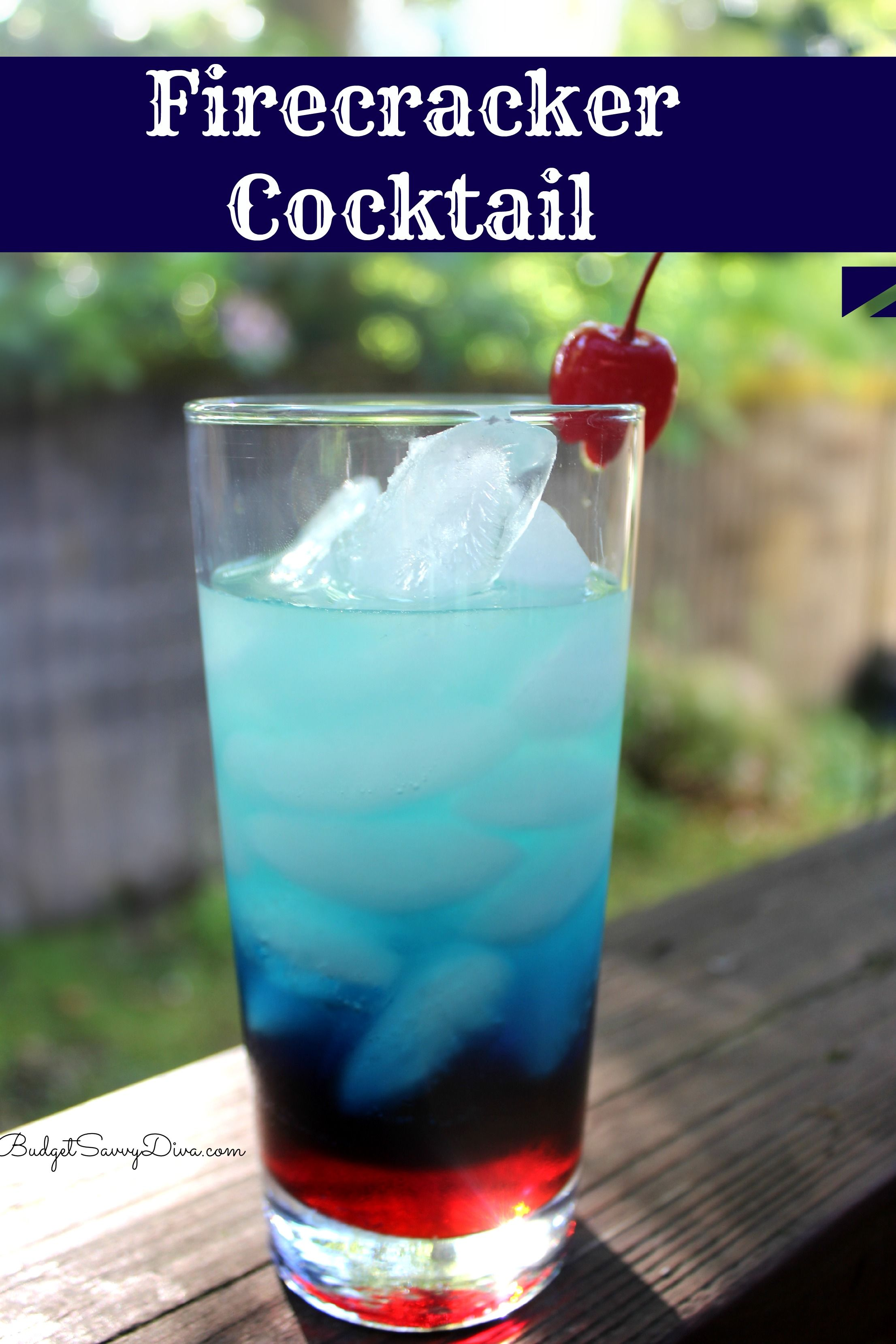 Firecracker cocktail recipe the talk dr oz and for Easy vodka drink recipes