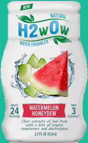 H2wOw is the first all-natural water enhancer made from extracts & essences of real fruit--amazing taste with a hint of organic sweeteners & electrolytes.