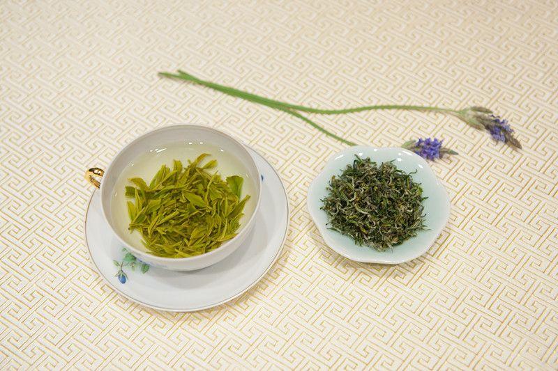 Tea hangzhou china tea longjing tea dragon well tea