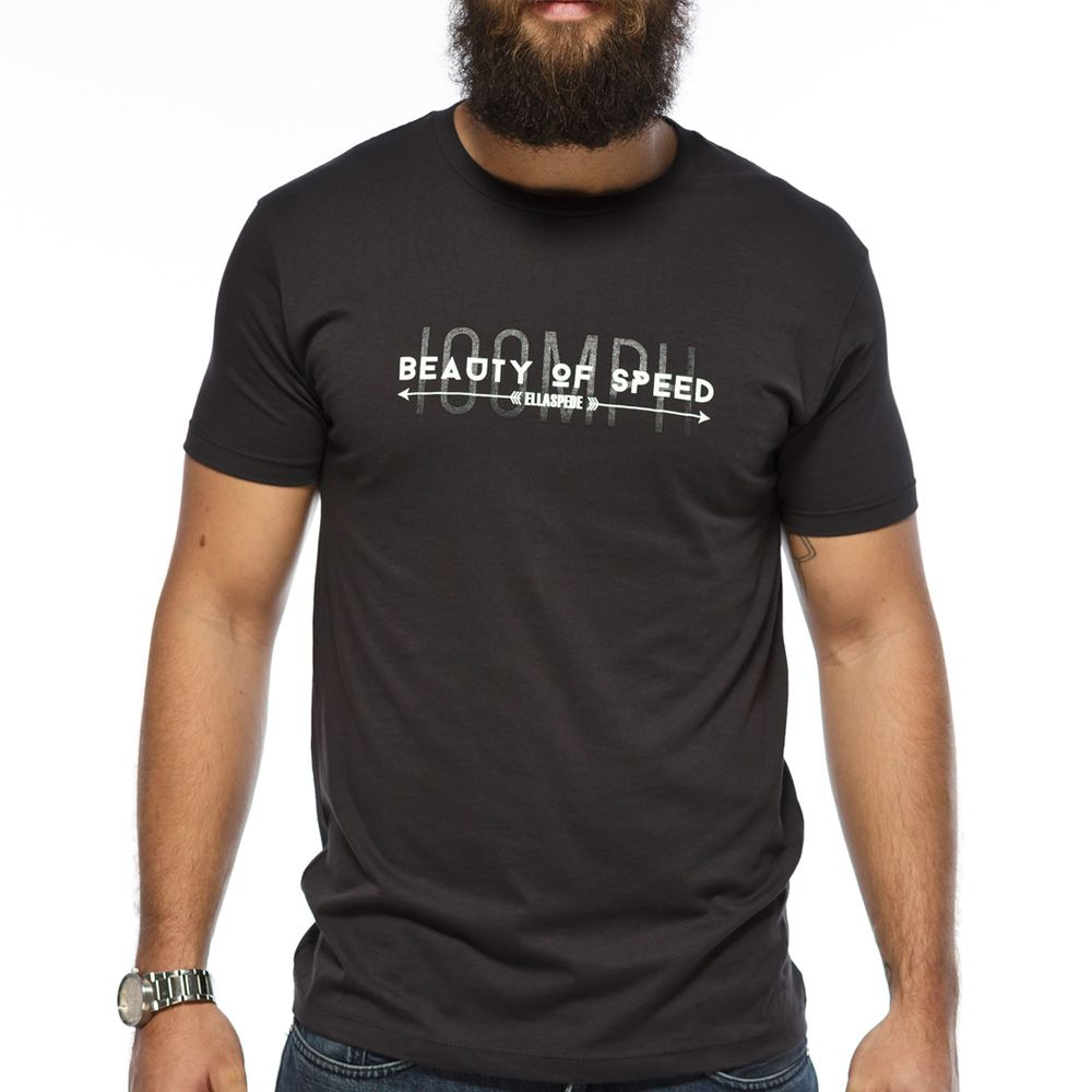 Beauty of Speed T-Shirt Grey