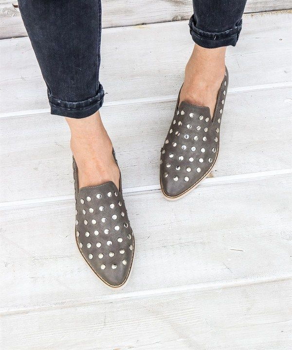 18797864e84 Miracle miles - scotti studded low cut ankle boots in 2019 | Shoes ...