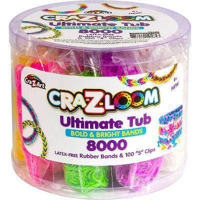 Cra-Z-Loom Ultimate Rubber Loom Band