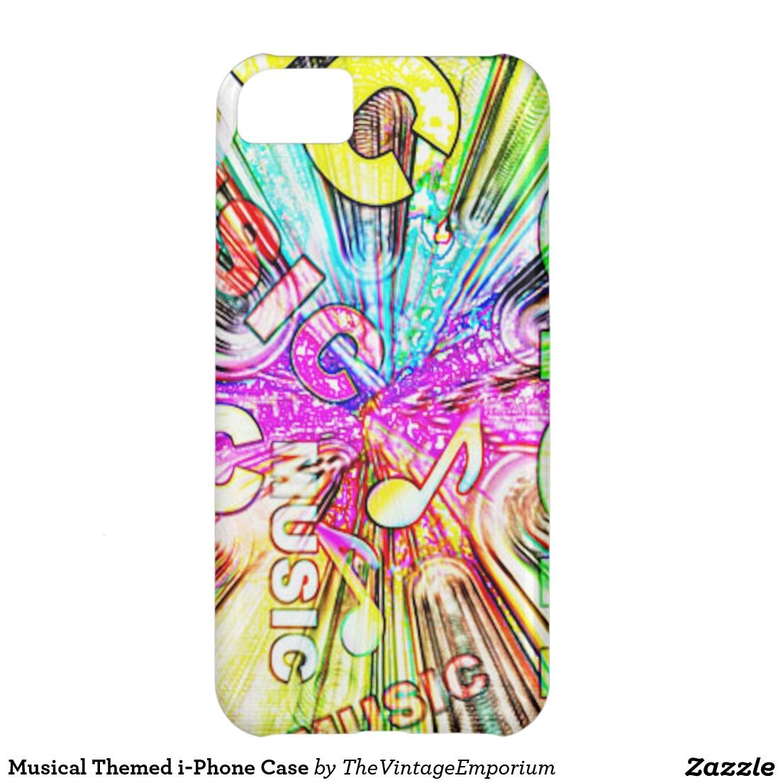 Musical Themed i-Phone Case