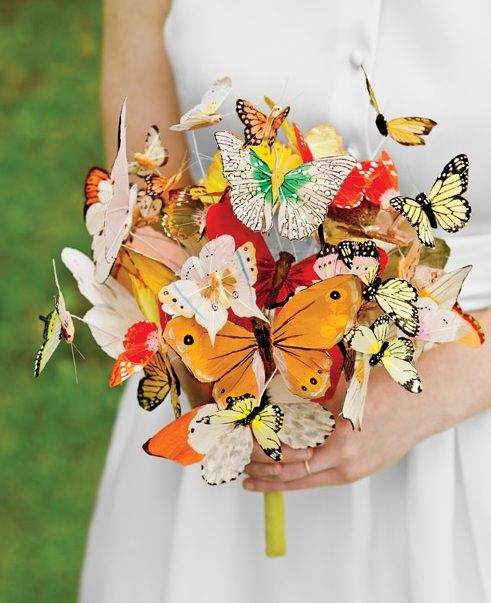 flowers and butterflies wedding silk flower bridal bouquets budget brides butterfly themed wedding