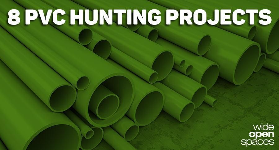8 simple pvc projects for resourceful hunters for Simple pvc projects