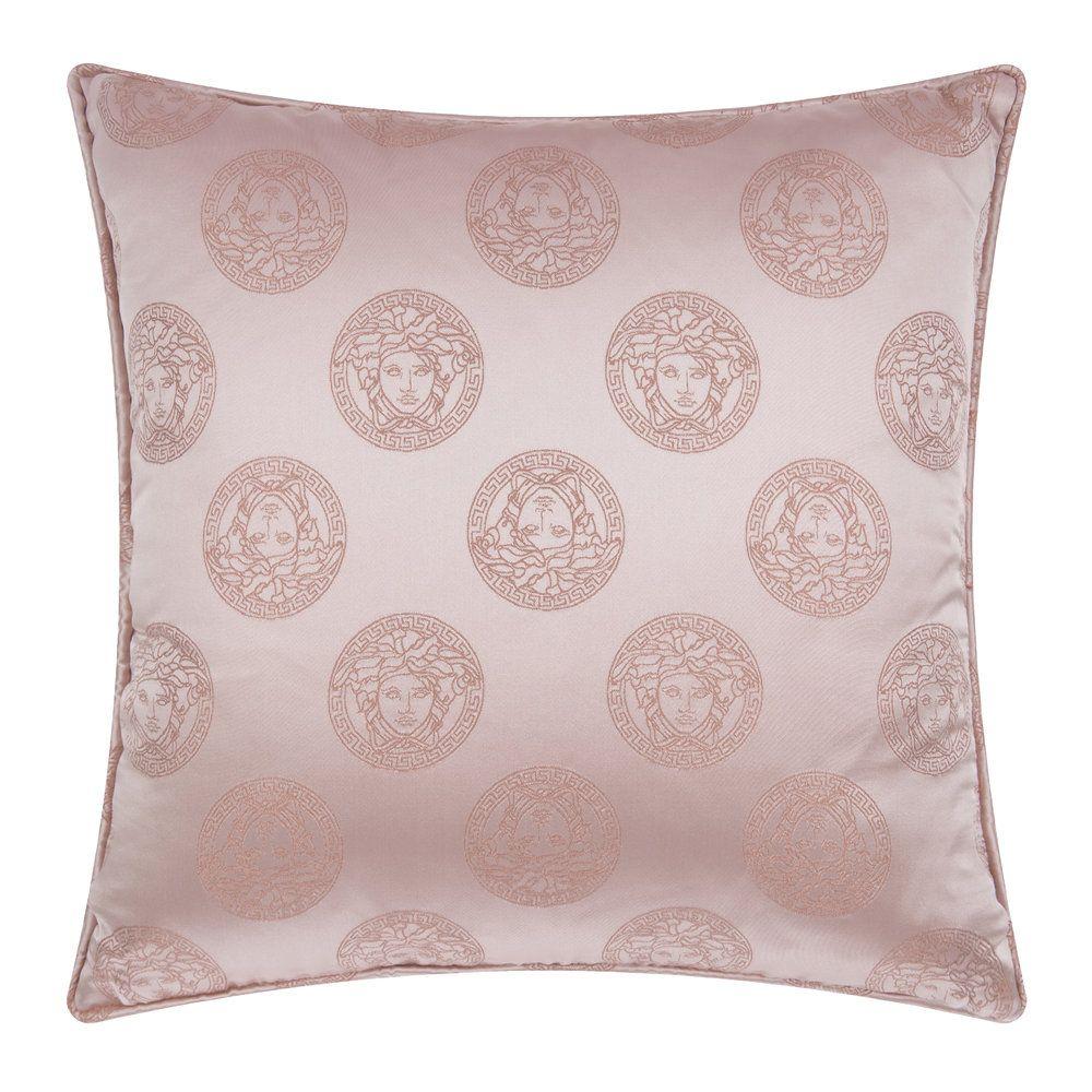 Versace Floral Medusa Pillow Beige